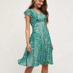 HD in Paris Concerto silk dress